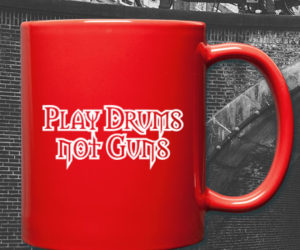 Play Drums not Guns – T-Shirt