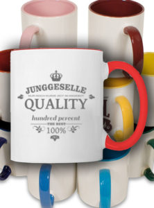 tasse-junggeselle-single