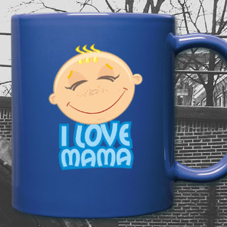 kinder tasse i love mama