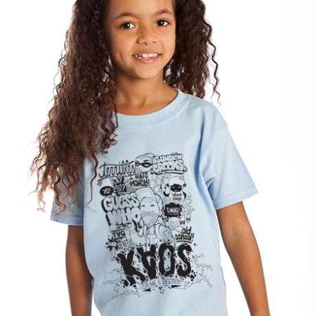 caos kinder t-shirt bedrucken
